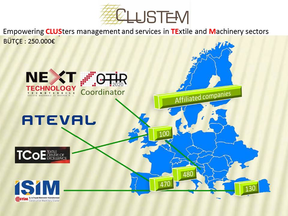 CLUSTEM - Empowering CLUSters management and services in TExtile and Machinery sectors